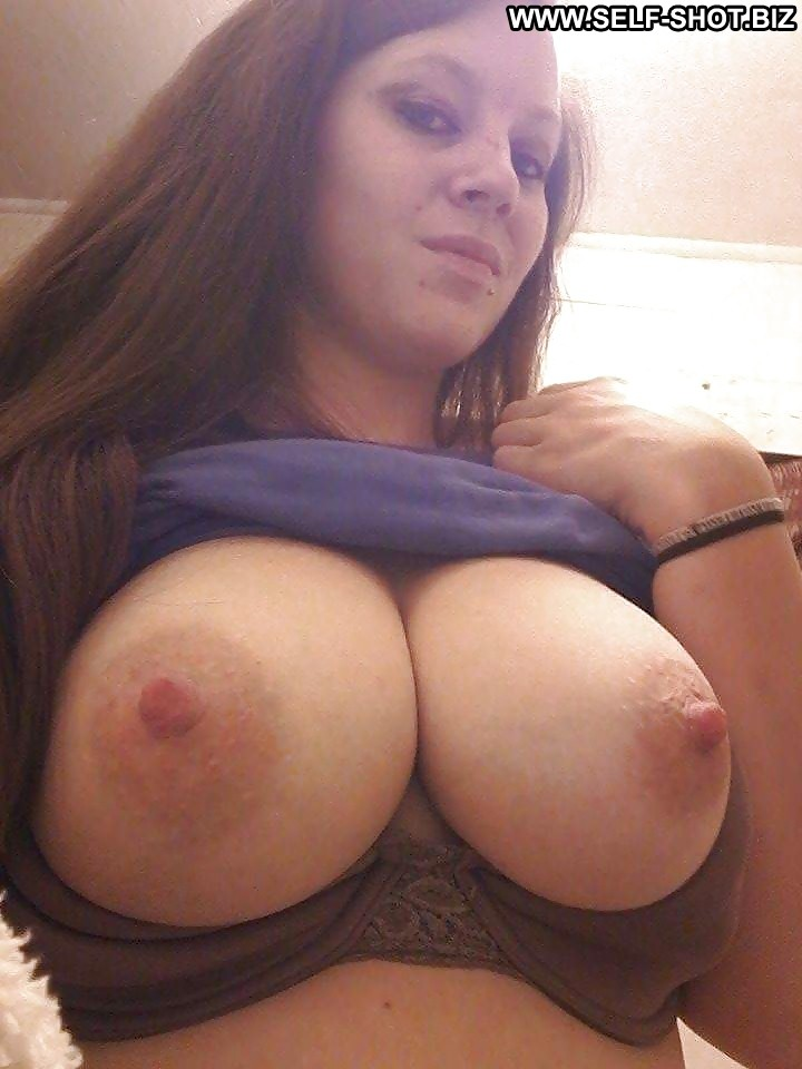 Big tit milf self shot this